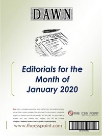 Buy Current Affairs, Buy DAWN Editorials, css current affairs, CSS Current Affairs Books, CSS DAWN Editorials, css point, CSS. MAGAZINES, Current Affairs, CURRENT ISSUES, DAWN, DAWN Editorials, DOWNLOAD, EDITORIALS, FPSC, Monthly DAWN Editorials August 2019, MONTHLY DAWN EDITORIALS DECEMBER 2019, MONTHLY DAWN EDITORIALS JANUARY 2020, MONTHLY DAWN EDITORIALS NOVEMBER 2019, News, Online DAWN Editorials, Opinions, PAKISTAN, THE CSS POINT, WORLD